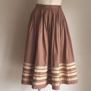 Midi flare skirt Small NWT